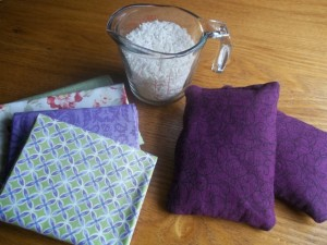 Hot/ Cold Rice Bags: For Winter Nights and The Occasional Boo Boo Fix