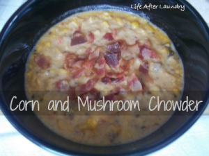 Corn and Mushroom Chowder