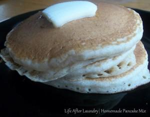Pancake Sundays: Homemade Pancake Mix