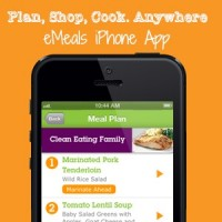 eMeals iPhone App is Finally Here!