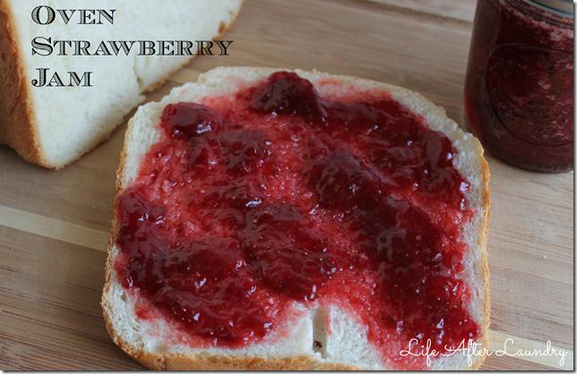oven strawberry jam
