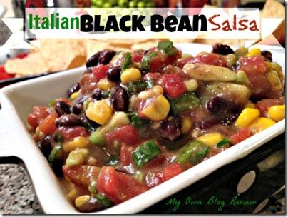 Italian Black Bean Salsa