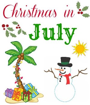 Christmas in July from LifeAfterLaundry.com