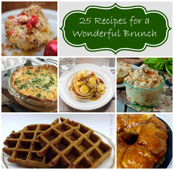 25 recipes for a wonderful brunch