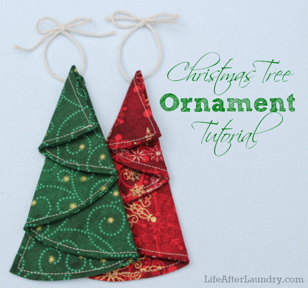 Christmas in July- Christmas Tree Ornament Tutorial from ...