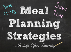 My Meal Planning Strategies