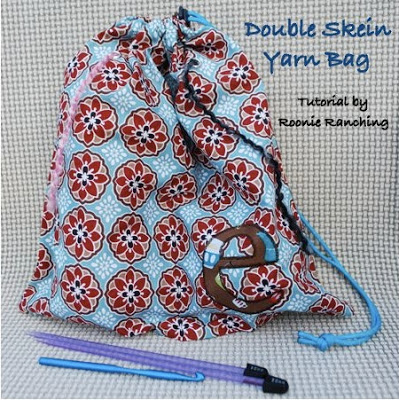 Double Skein Yarn Bag