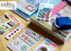 Blitsy: Saving on Craft Supplies & Giveaway {$50 Craft Supply Grab Bag}