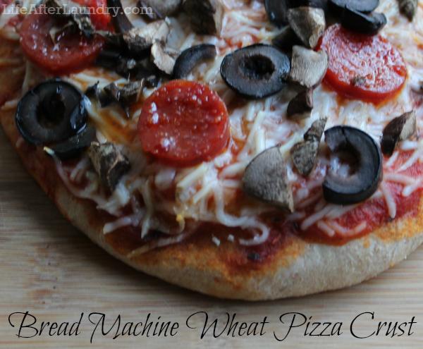 bread machine wheat pizza dough