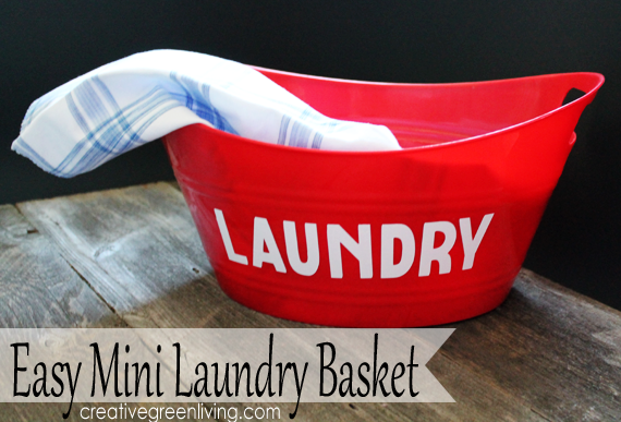 easy mini laundry basket tutorial using cricut craft cutter