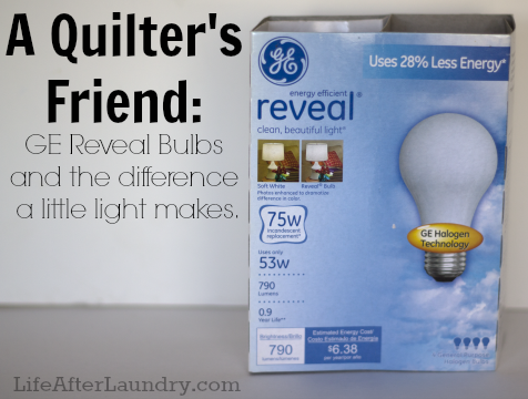 GE Reveal Bulbs 2