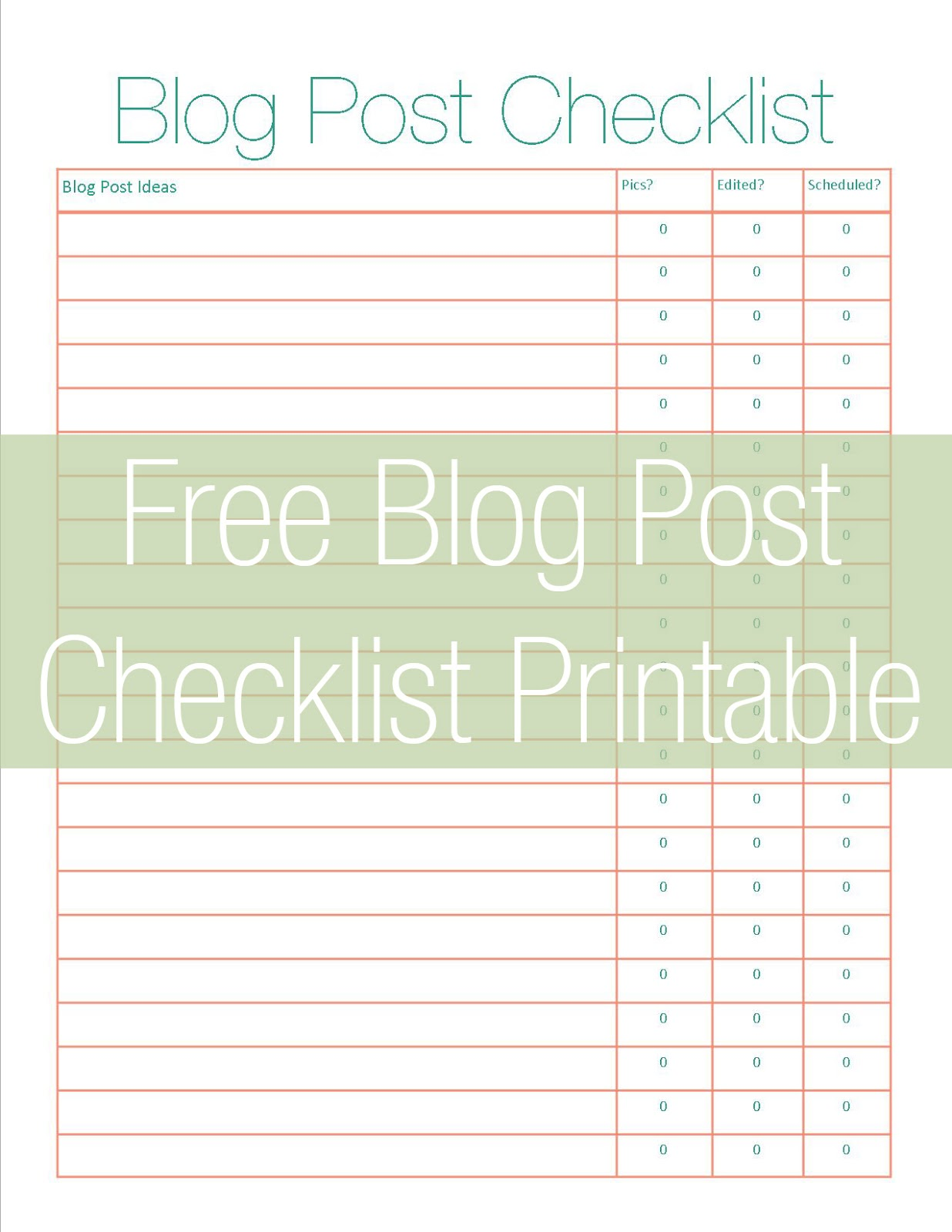 image relating to Printables Blog identified as 25 Printables for Planning - Lifestyle At the time Laundry
