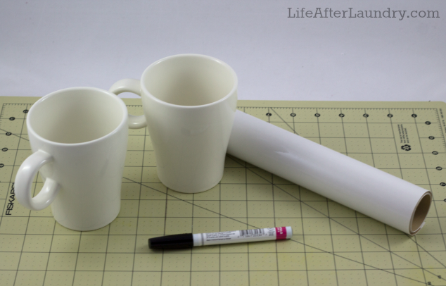 Sharpie Mug Supplies