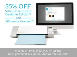 Silhouette Studio® Designer Edition and Silhouette Connect™ Sale