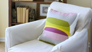 The Cheaters Way to Making a Slipcover {for under $20}