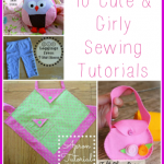 10 Cute and Girly Sewing Tutorials FI