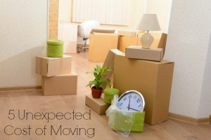 5 Unexpected Costs of Moving