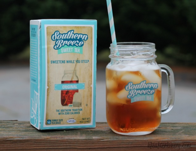 Southern Breeze Sweet Tea and Mason Jar