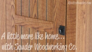 A Little More Like Home with Sauder Woodworking Co