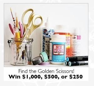Blitsy Golden Scissors Giveaway