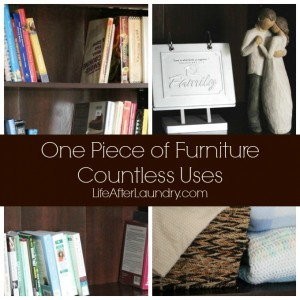 One Piece of Furniture… Countless Uses
