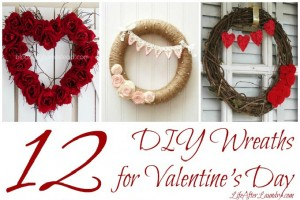 12 DIY Wreaths for Valentine's Day