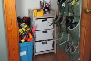 Conquering My Son's Closet: Toy Organization