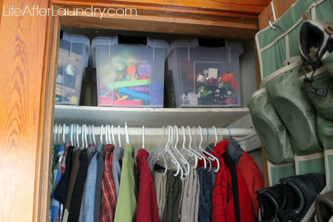 toy organization via LifeAfterLaundry