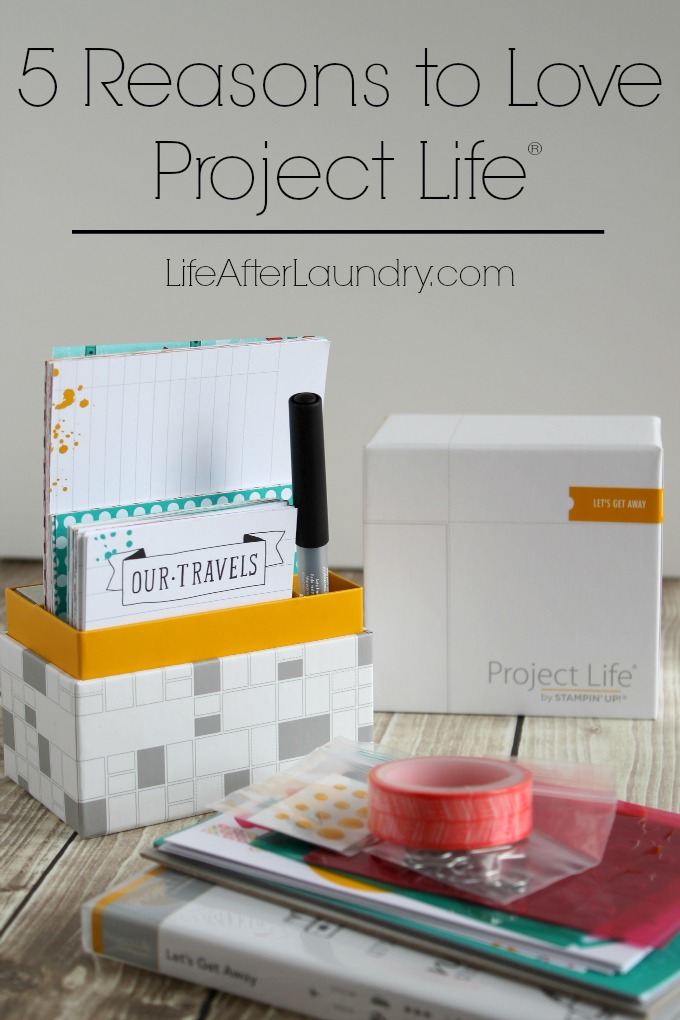 5 Reasons to love Project Life via LifeAfterLaundry.com