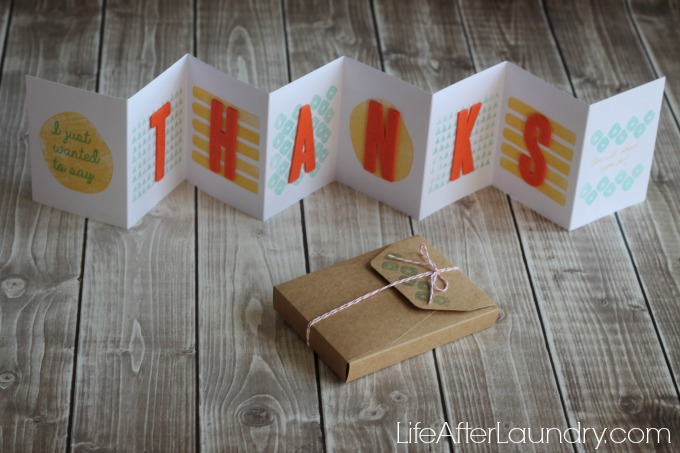 Layers of Gratitude Paper Pumpkin via LifeAfterLaundry.com