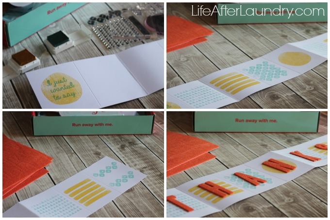 Making the Layers of Gratitude Paper Pumpkin Box