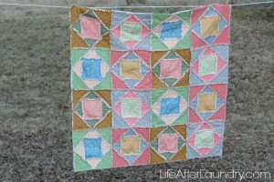 Square Dance Rag Quilt