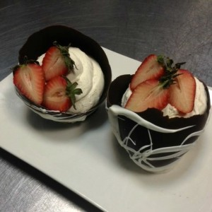 Chocolate Mascarpone Mousse Cups and Mimi's Adventure in Baking