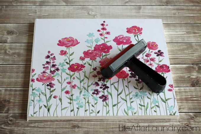 smooth out scrapbook paper