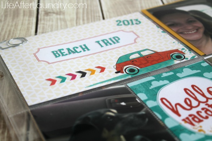Let's Get Away Collection for saving Vacation Memories