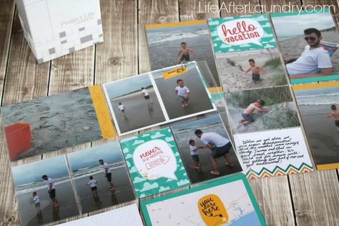 Let's Get Away Project Life Collection from Stampin' Up!