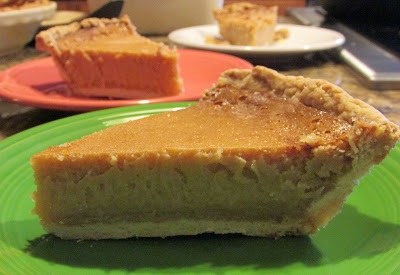 Honey Chess Pie