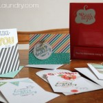paper pumpkin card making party