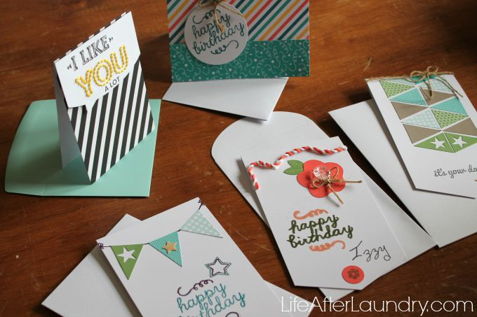 paper pumpkin card party