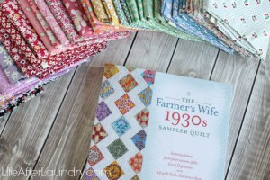 The Farmer's Wife 1930's Sampler Quilt Sew-along