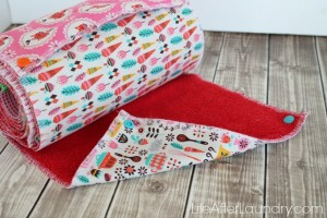 Craft Redux: Easy UnPaper Towels