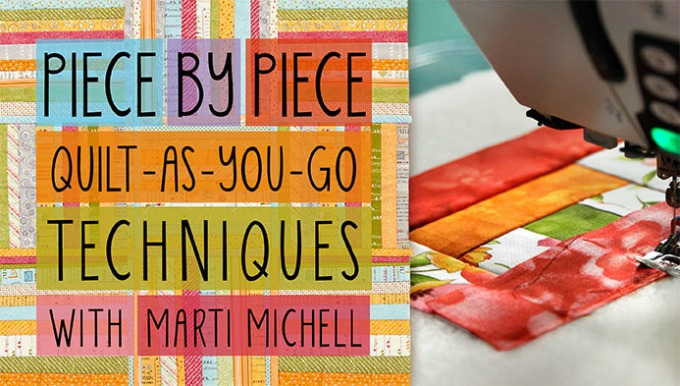 Craftsy Class Review and Sale! Piece by Piece: Quilt as you go ... : quilt as you sew - Adamdwight.com
