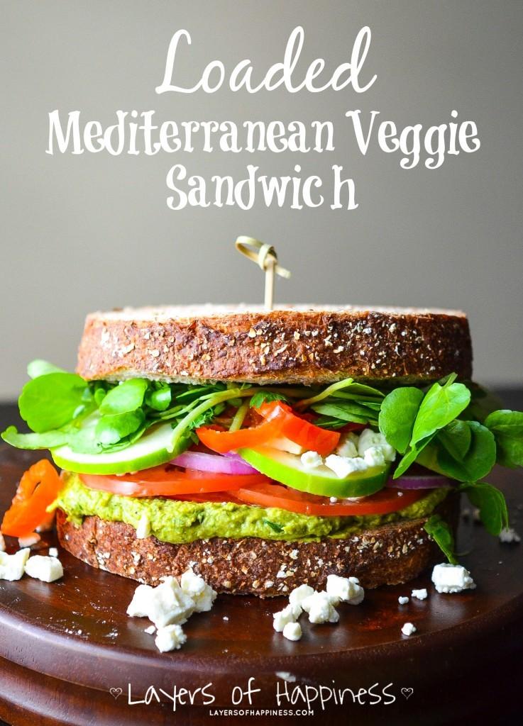 My favorite Vegetarian Sandwich